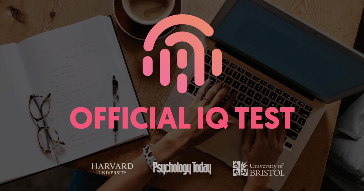 Iq Test Offiziell